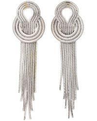 Lara Bohinc | Metallic 'saturn' Earrings | Lyst