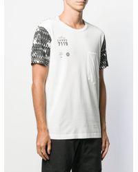 Stone Island Shadow Project White Cxado T-shirt for men