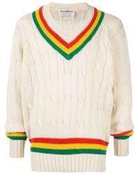 Rowing Blazers Pullover im Cricket-Look in Yellow für Herren
