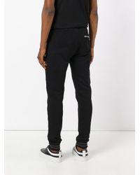 Philipp Plein Black Term Track Pants for men