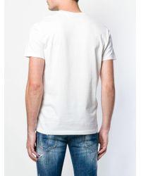 T-shirt à imprimé graphique DSquared² pour homme en coloris White