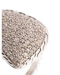 John Hardy Metallic Klassischer Ring