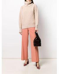 Blumarine Multicolor Paint Box Suit Trousers