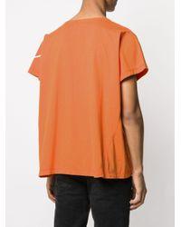 メンズ Greg Lauren Greg Tシャツ Orange