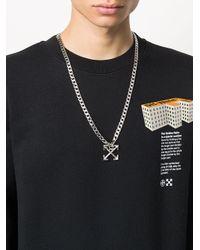 Off-White c/o Virgil Abloh Metallic Arrows Necklace for men