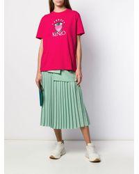 KENZO Cupid プリント Tシャツ Pink