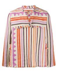 メンズ Isabel Marant Pilano ストライプ シャツ Pink