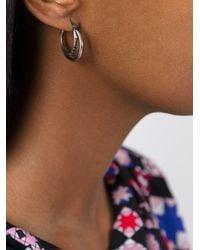 Iosselliani - Metallic 'silver Heritage' Earrings - Lyst