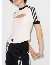 Adidas X Paolina Russo Tシャツ White