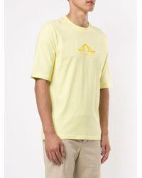 T-shirt à logo contrastant Cottweiler pour homme en coloris Yellow