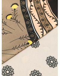 Etro フローラルプリント スカーフ Multicolor
