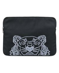 KENZO - Black Tiger Laptop Bag - Lyst