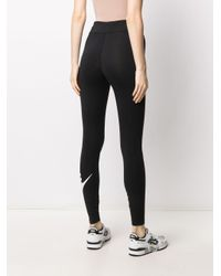 Leggings con stampa di Nike in Black