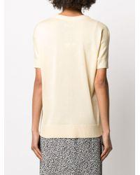 Max & Moi Vネック Tシャツ Natural