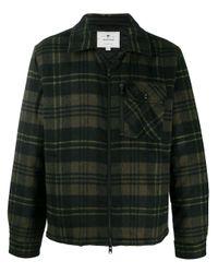 Woolrich Green Plaid Shirt for men