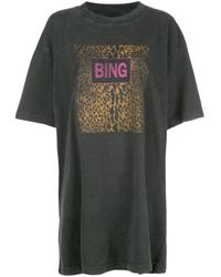 T-shirt Harley Anine Bing en coloris Black