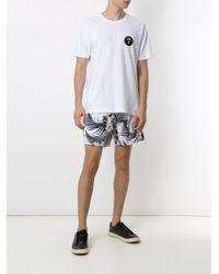 T-shirt Stone Round Seven Osklen pour homme en coloris White