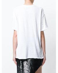 IRO White Short Sleeved T-shirt
