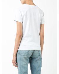 Jimi Roos White Smile Pocket T-shirt
