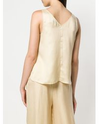 Forte Forte Natural Plain Tank Top