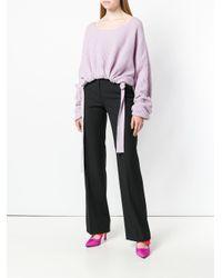 Pinko Black High Waisted Trousers