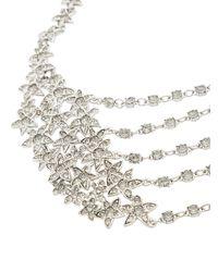 Oscar de la Renta - Gray Star Fish Necklace - Lyst