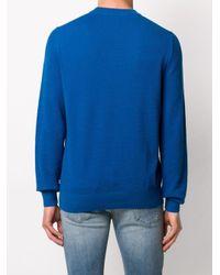 メンズ BOSS by Hugo Boss ロングスリーブ セーター Blue