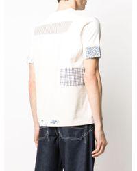 メンズ Junya Watanabe パッチワーク Tシャツ White