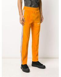 メンズ Palm Angels トラックパンツ Orange