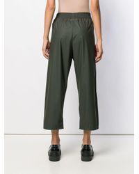 Pantaloni sportivi crop di MM6 by Maison Martin Margiela in Green