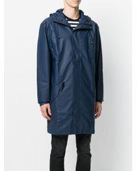 Rains Blue Alpine Coat