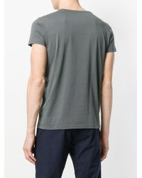 Tomas Maier Gray Classic T-shirt for men