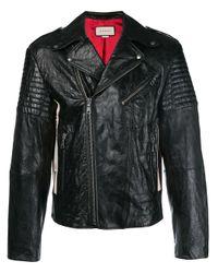 Gucci Black Biker Jacket for men