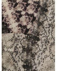 Faliero Sarti Sjaal Met Print in het Gray