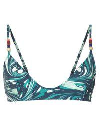 Bikini imprimé Stella McCartney en coloris Blue