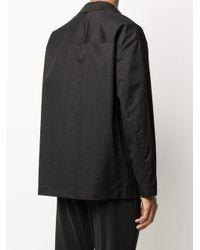 メンズ Attachment シングル ジャケット Black