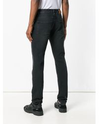 AMI - Black Ami Fit 5 Pockets Jeans for Men - Lyst