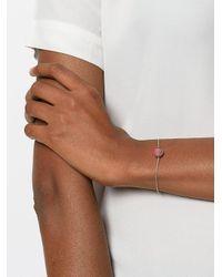 Christina Debs - Gray Chain Bracelet - Lyst