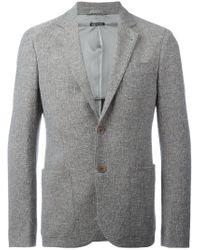 Giorgio Armani | Gray Classic Blazer for Men | Lyst