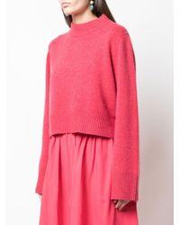 Co. カシミア ワイドスリーブセーター Pink