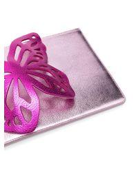 Sophia Webster Pink 'Flossy' Clutch
