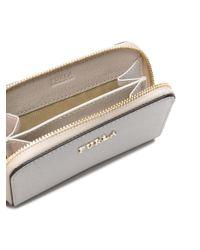 Furla White Mini Babylon Wallet