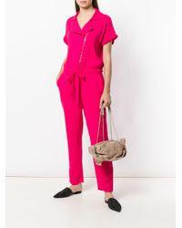 RED Valentino - Natural Bow Detailed Shoulder Bag - Lyst