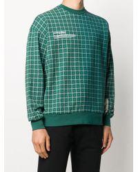 メンズ A_COLD_WALL* プリント スウェットシャツ Green