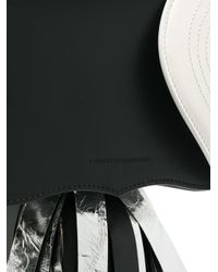 CALVIN KLEIN 205W39NYC - Black Contrast Clutch Bag - Lyst