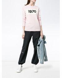Bella Freud | Pink 1970 Intarsia Wool Sweater | Lyst