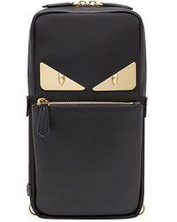 Fendi - Black Bag Bugs One-shoulder Backpack for Men - Lyst