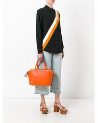 Loewe - Orange Zipper Bag - Lyst