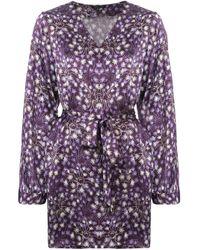 Robe de chambre Langley Morgan Lane en coloris Purple