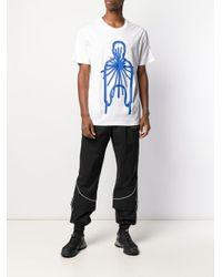 メンズ Craig Green グラフィック Tシャツ Blue